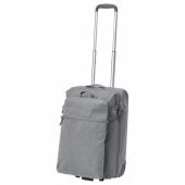 ФОРЕНКЛА Сумка на колесиках и рюкзак,светло-серый