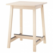 НОРРОКЕР Барный стол,береза