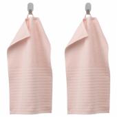 ВОГШЁН Полотенце,бледно-розовый