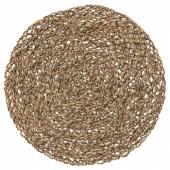 ИХОЛЛИГ Салфетка под прибор,естественный,водоросли